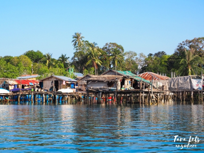 Stilt houses in Tawi-Tawi