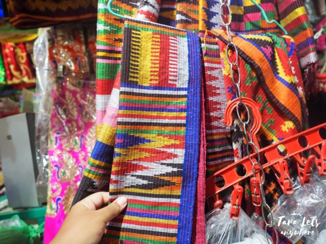 Local fabric in Sulu