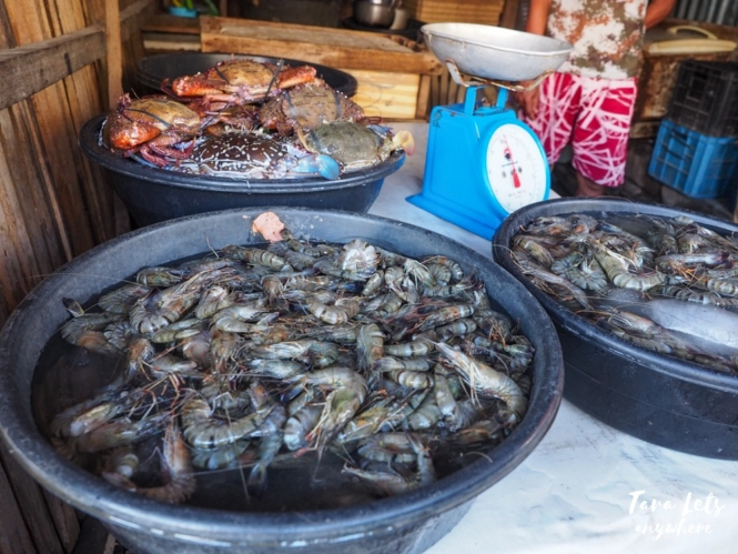Seafood in Isabela City