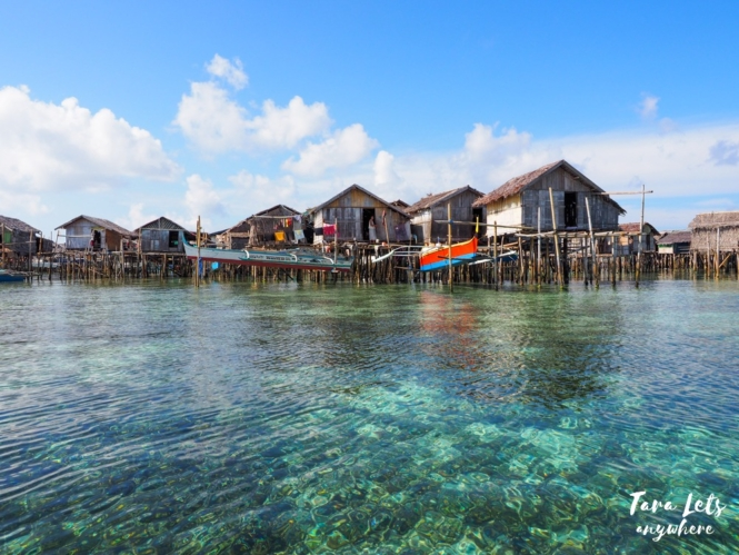 Stilt houses in Sulu