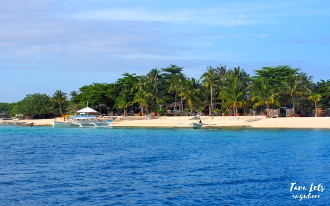 Virgin Island in Bantayan, Cebu
