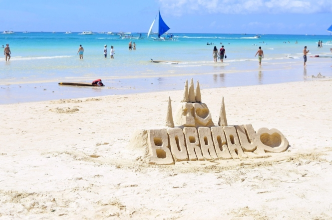 Boracay in the Philippines