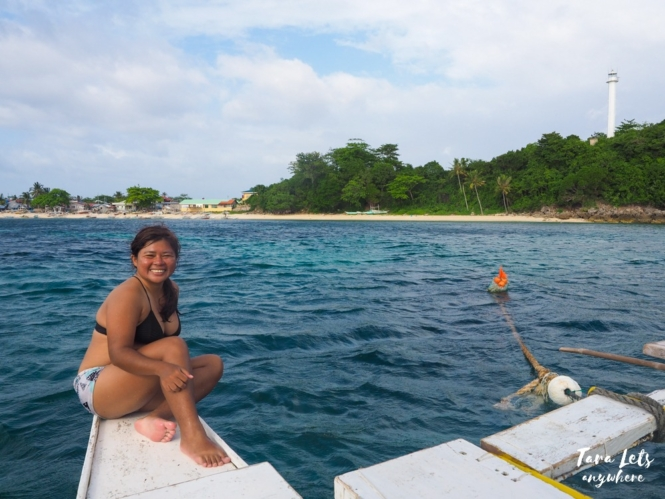 Island hopping in Malapascua, Cebu