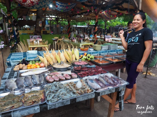 Local market in Malapascua