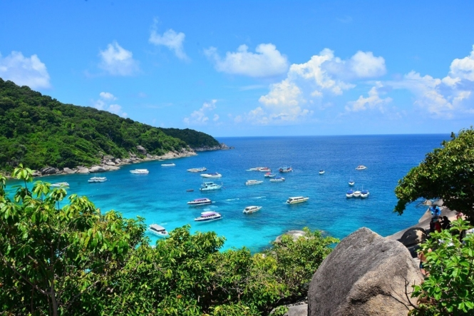 Best dive spots in Southeast Asia - Similan Islands, Thailand