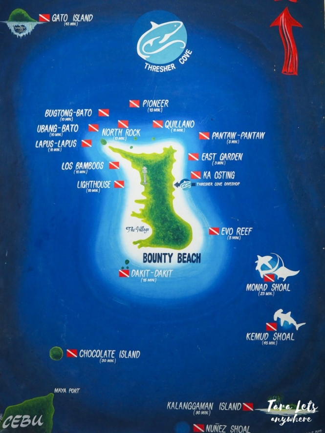 Dive spots in Malapascua