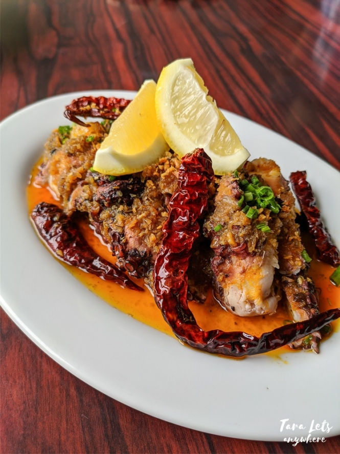 Bistro Charlemagne restaurant - octopus ala pobre