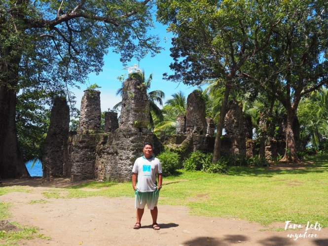 Old Church Ruins in Camiguin Island