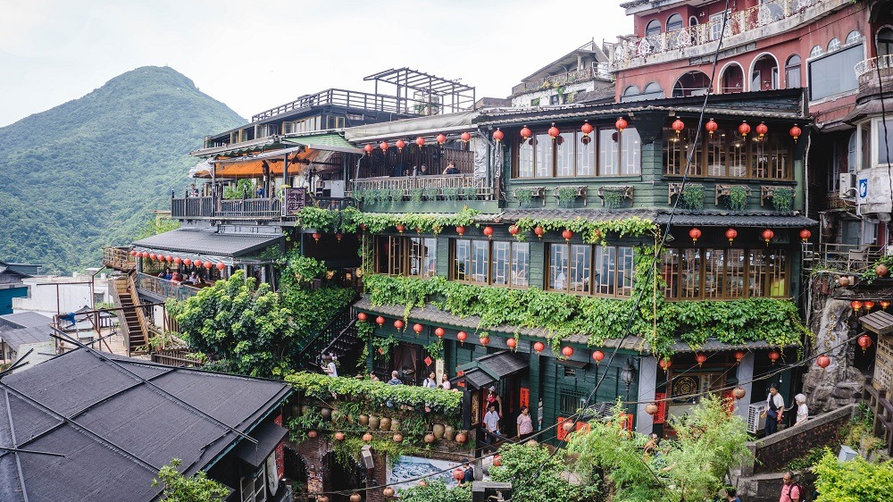 Amei Teahouse in Jiufen old street