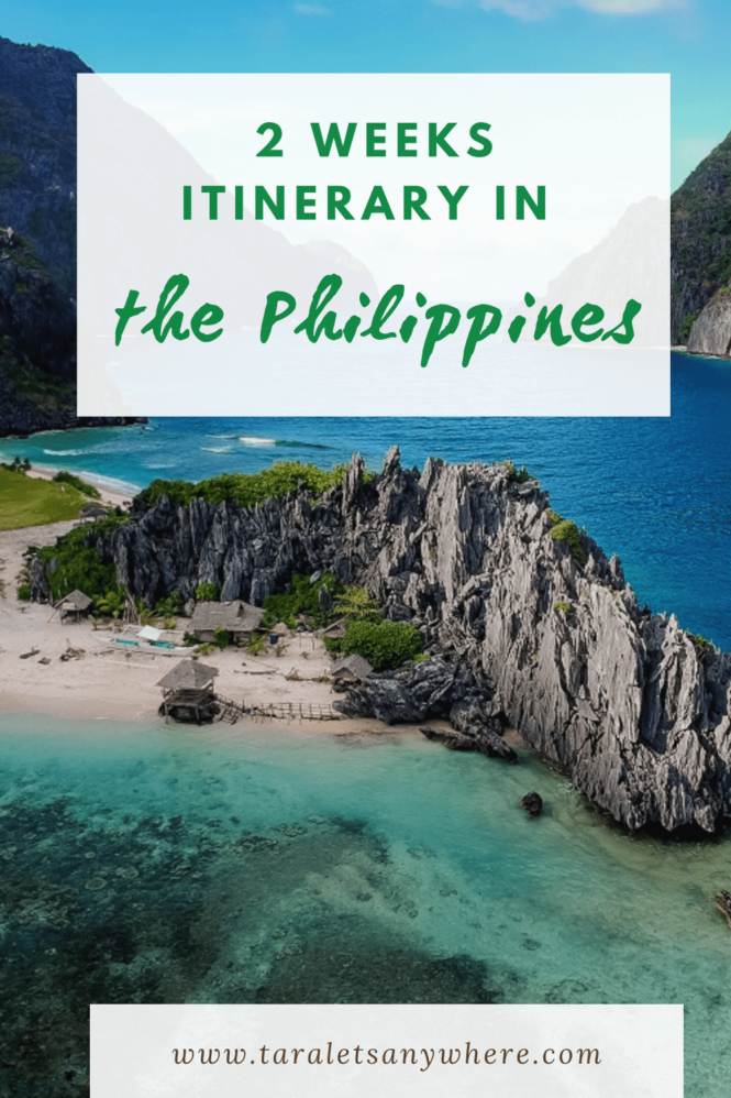 2 weeks itinerary in the Philippines
