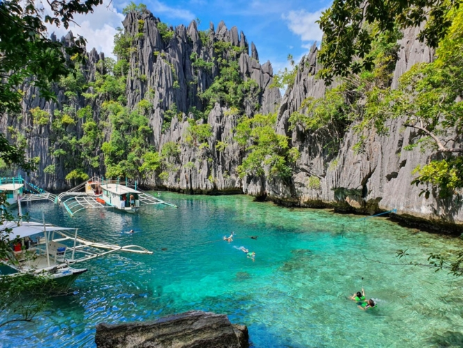 Twin Lagoon in Coron, Palawan