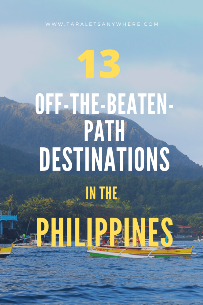 Off-beaten destinations in the Philippines