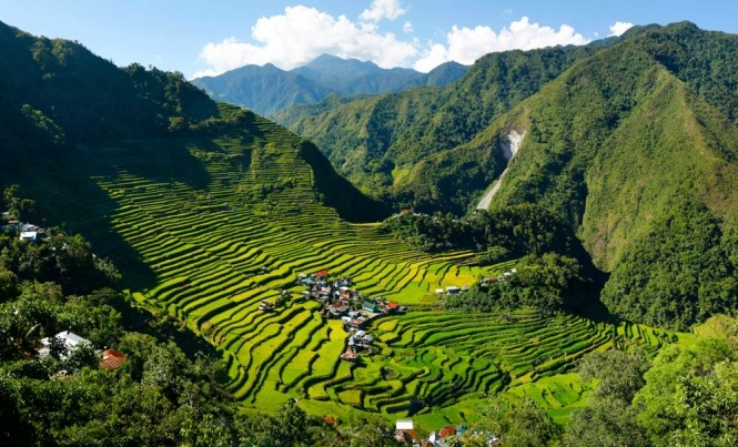 Batad Rice Terraces in Ifugao
