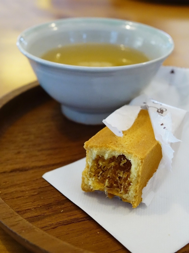 Taiwanese food - pineapple tart